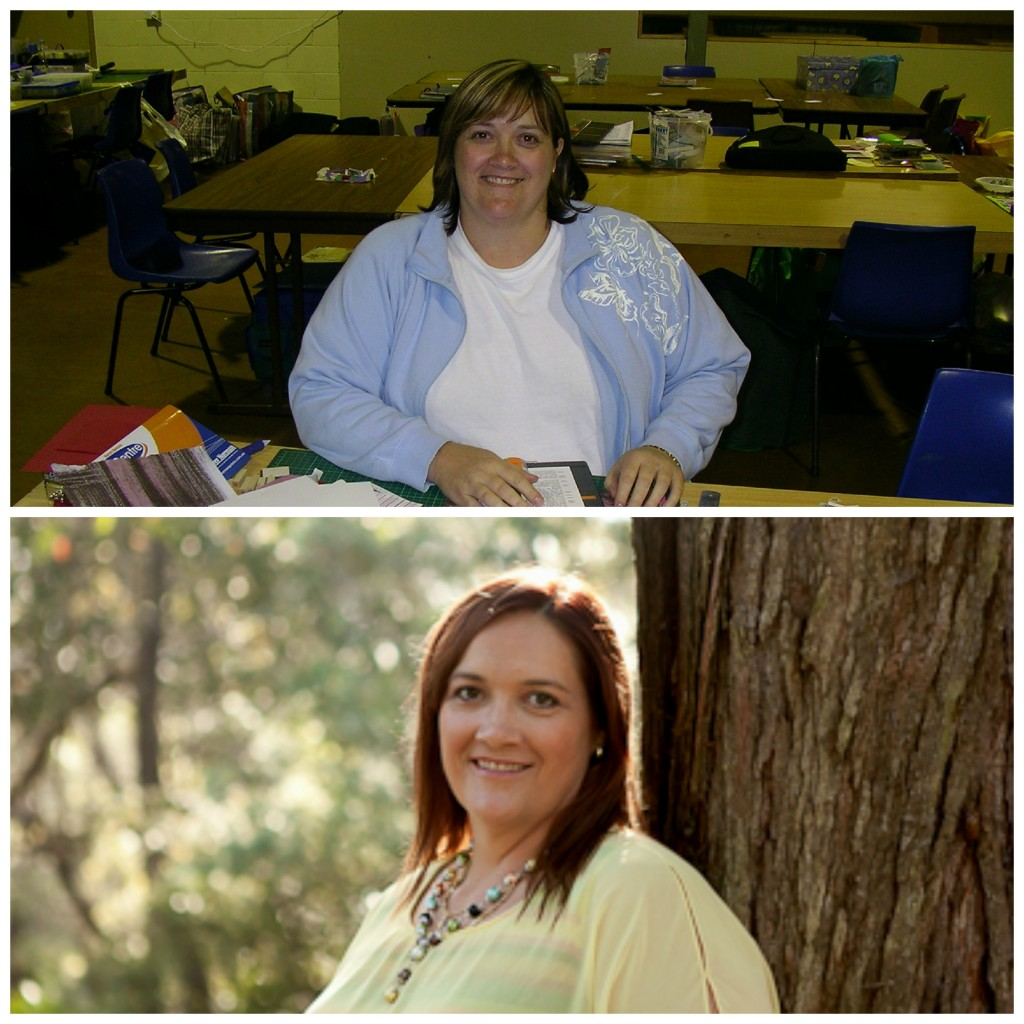 Top pic at 132kg (my heaviest excluding my pregnancy). Bottom pic at 107kg after a 25kg loss. Bottom photo by http://www.bethtahiriphotography.com.au/