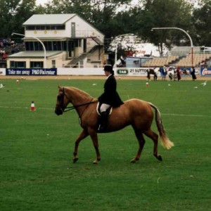 1994 - One of my major horse riding acheivments competing at Sydney Royal Easter Show.