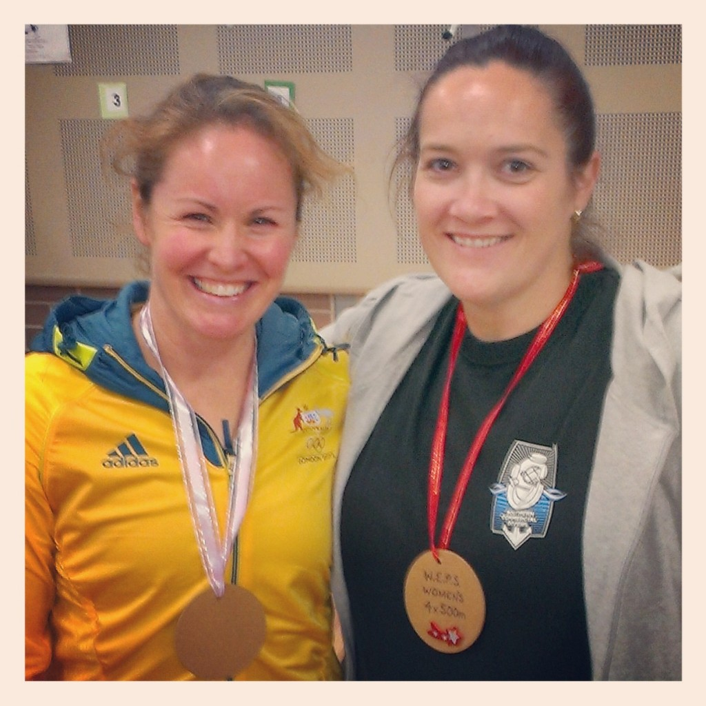 with Olympic Rower Hannah Every-Hall