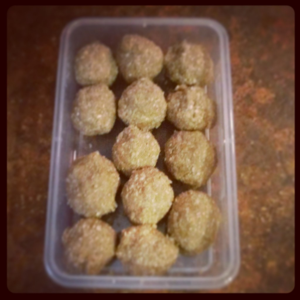 Delicious balls of protein.
