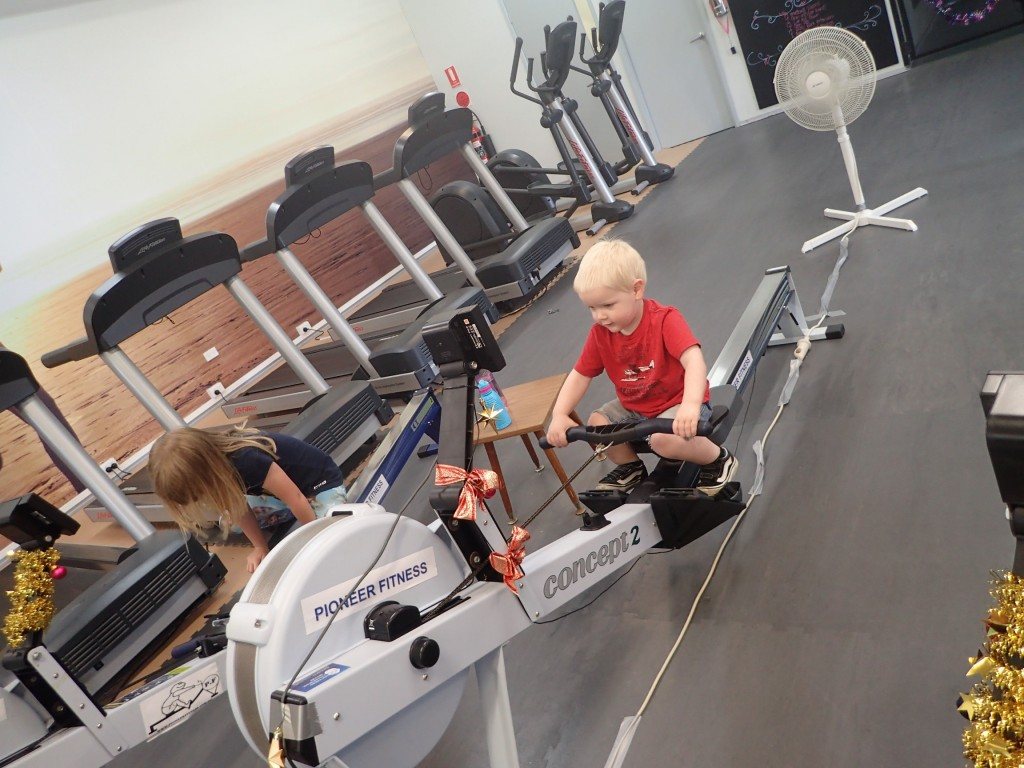 1 last picture to share, the next generation of rowers.